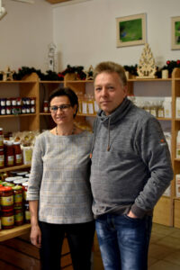 Ingolf und Liane Kasch im Hofladen2